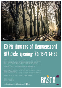 Poster Humans of Heumensoord